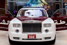 a nap képe, dubai, phantom, rendőrautó, rendőrség, rolls-royce