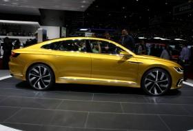 genfi autószalon, hibrid, passat, plug-in hibrid, sport coupé concept gte, volkswagen