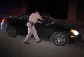 amerika, autópálya, ittas vezetés, rendőrség, részeg sofőr, videó