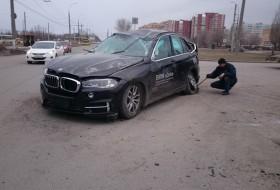 baleset, bmw x5, oroszország, tesztvezetés