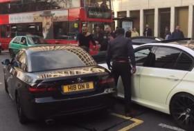 3-as, baleset, balesetveszély, bmw, london, videó