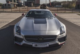 mercedes, prior design, sls amg