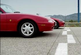 autóverseny, mazda, miata, mx-5, spanyolország, videó