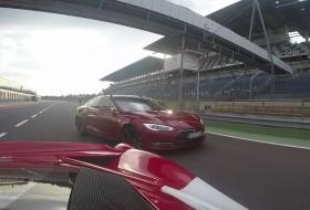 458 speciale, autós videó, ferrari, gyorsulási verseny, p85d, tesla