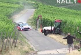 rali, rally, traktor, videó