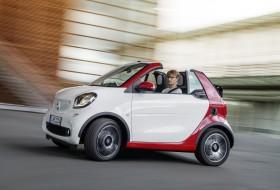 fortwo cabrio, frankfurti autószalon, smart, smart fortwo
