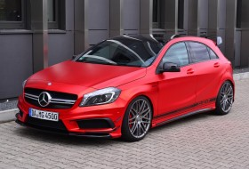 a45 amg, folien experte, mercedes-benz, pp-performance, tuning, új mercedes