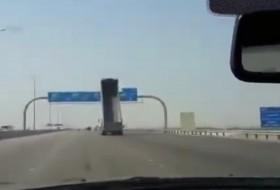 arab, baleset, teherautó