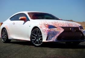 is f, rc 350 f, sportkocsi, új lexus, videó