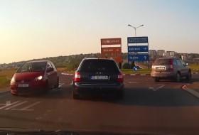 a4 avant, audi a4, autós videó, balesetveszély, videó
