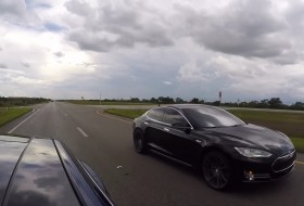 elektromos autó, gyorsulási verseny, model s, p85d, p90d, tesla, videó