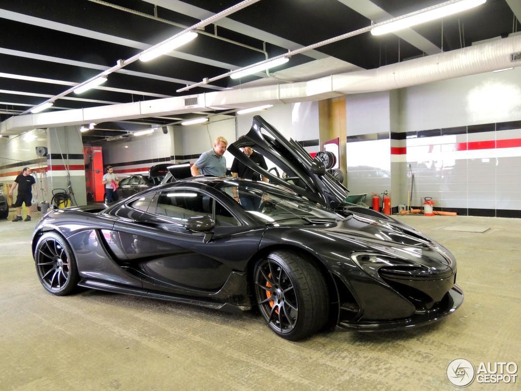 Hakkinen McLaren P1-ese