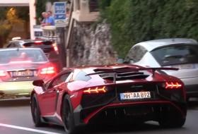 autókölcsönzés, aventador sv, monte-carlo, új lamborghini, videó