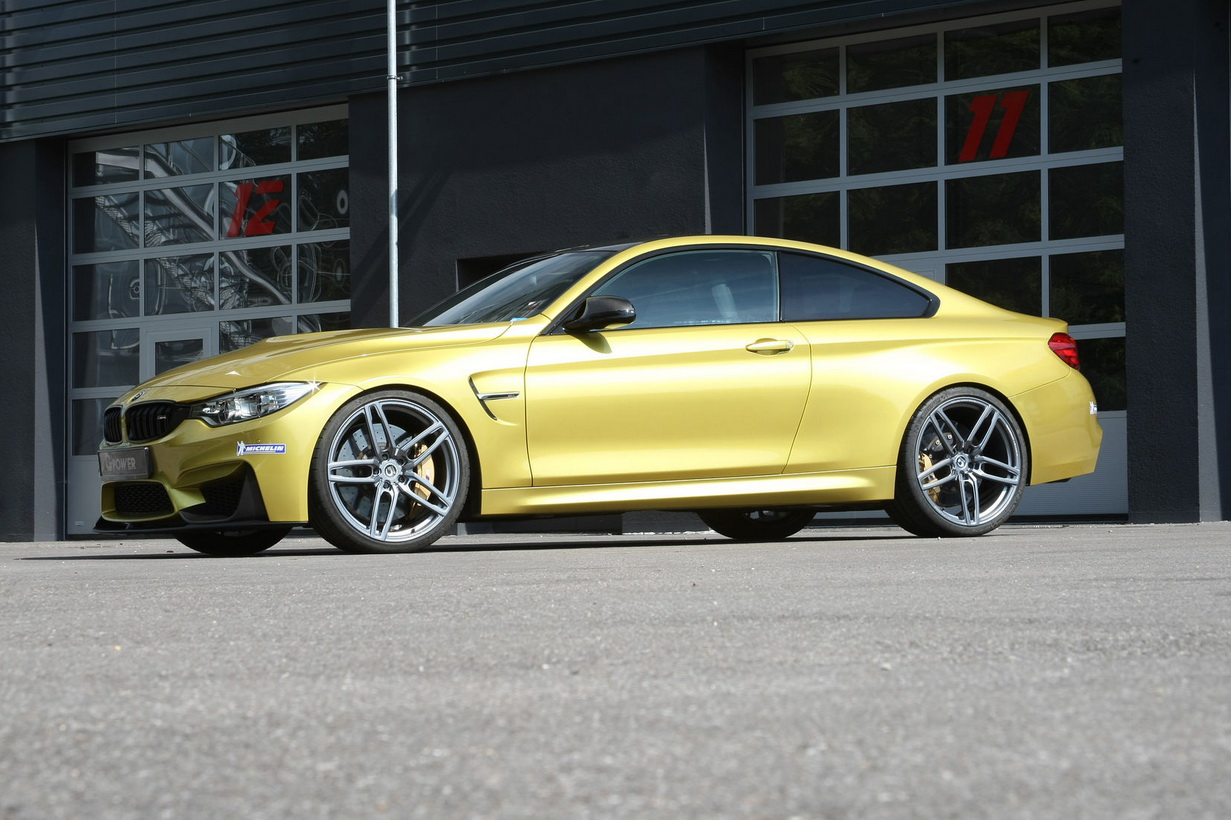 M5-össé erősítette a BMW M4-et a G-Power