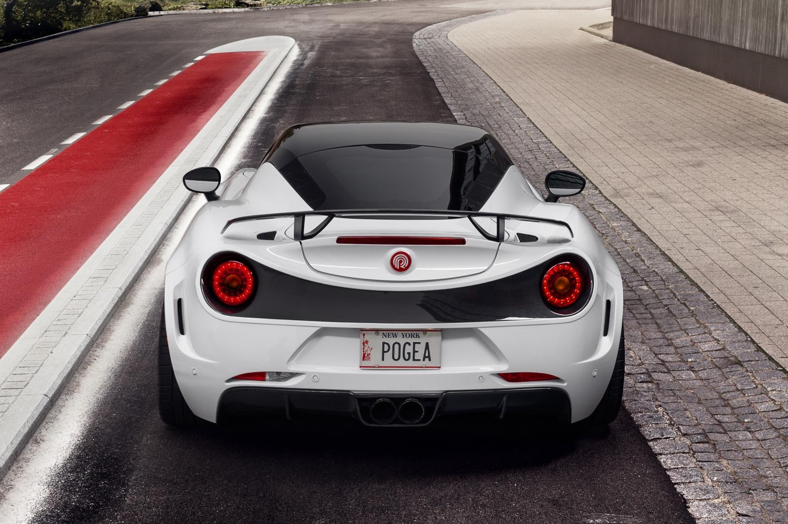 Pogea Racing Alfa 4C Centurion 1plus