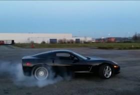 corvette, gumifüstölés, távirányítás