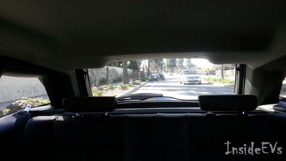 Ez maradt a BMW i3-ból egy ráfutásos baleset után