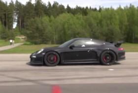 911 gt3, audi rs7, gyorsulási verseny, új audi, új porsche, videó