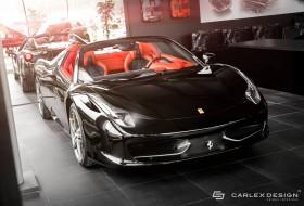 458 spider, carlex design, ferrari, tuning
