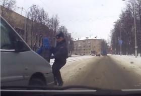 baleset, gyalogos, rendőr, szabálysértés, videó, zebra