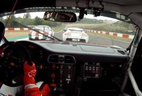 autóverseny, előzés, nürburgring, porsche 911, videó