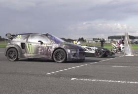 ariel atom, citroen, ds3 racing, gyorsulási verseny, rallycross, videó, yamaha