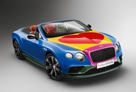 bentley, continental gt, pop art
