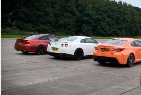 m4 coupe, nissan gt-r, rc f, top gear, új bmw, új gt-r, új lexus, videó