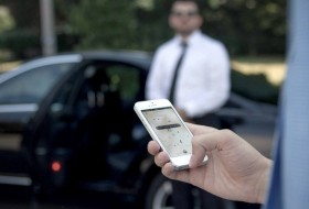 okostelefon, taxi, uber