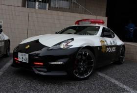 370z, a nap képe, drift, japán, nismo, rendőrautó, rendőrség, új nissan