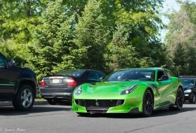 a nap képe, f12tdf, új ferrari, zöld autó