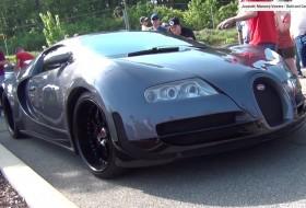 bugatti veyron, cougar, egyedi autó, mercury, replika, videó
