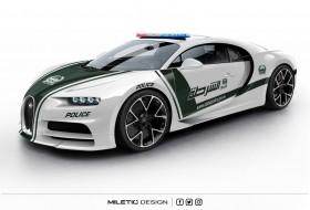 a nap képe, bugatti, chiron, dubai, rendőrautó, új bugatti
