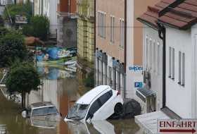 áradás, árvíz, használt autó, import, vízkár