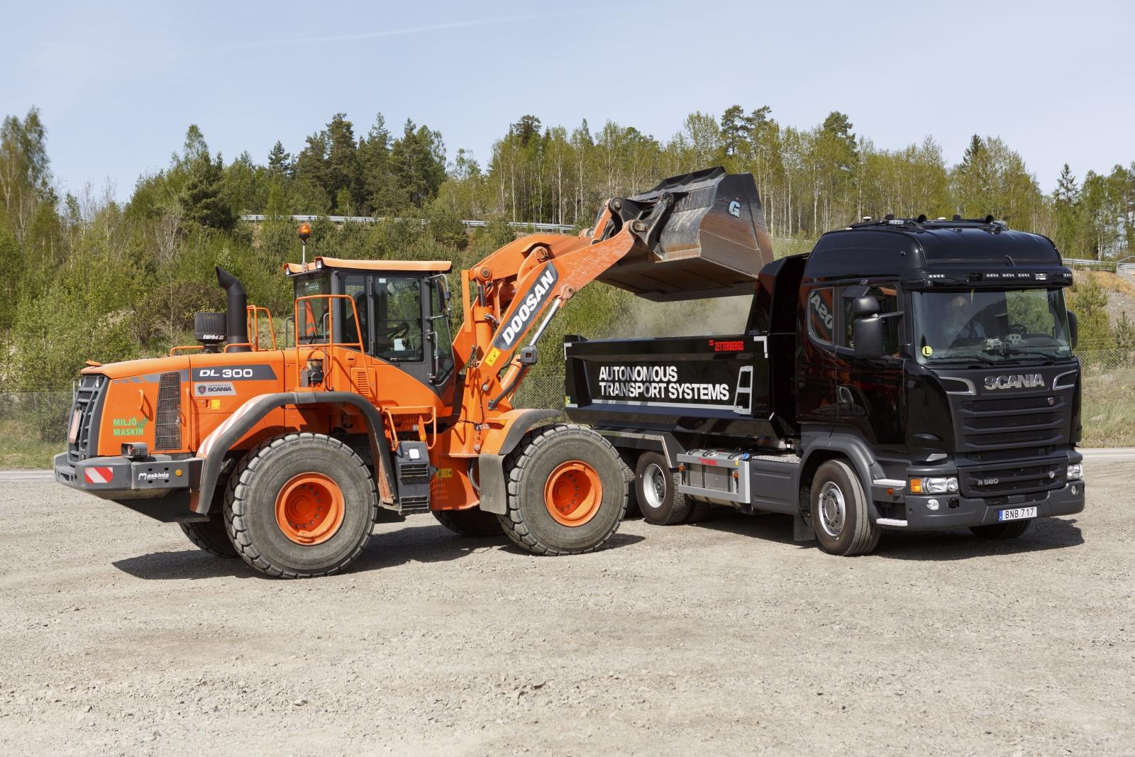 Scania önműködő közlekedési rendszer