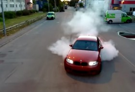 1m, bmw, drift, videó