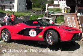 baleset, hibrid, laferrari, olaszország, új ferrari, videó
