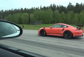 911 gt3 rs, f-type, gyorsulási verseny, jaguar, új porsche, videó