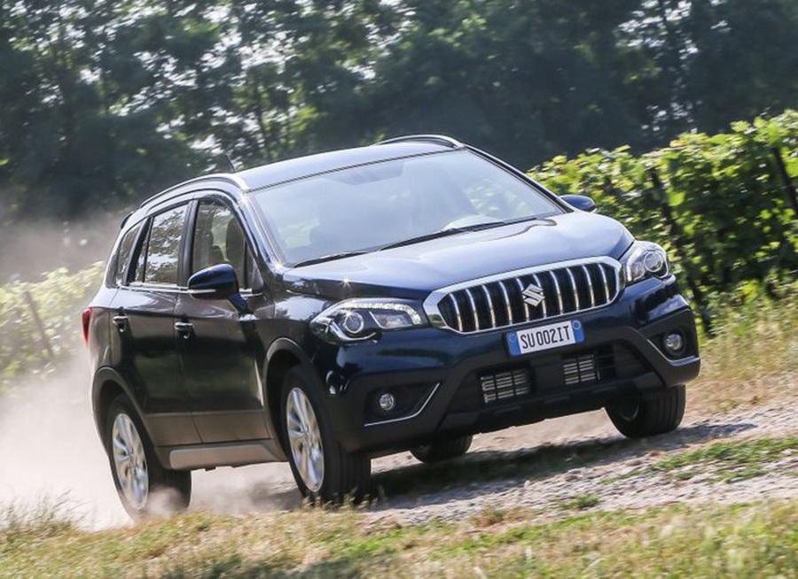 Brutális ráncfelvarrást kap a Suzuki S-Cross