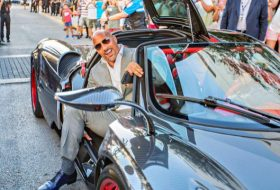a nap képe, dwayne johnson, pagani, pagani huayra, the rock