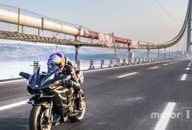 h2r, kawasaki, motorkerékpár, rekord