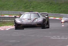 koenigsegg, megawatt, nürburgring, one:1, videó, világrekord