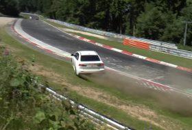 baleset, drift, evo x, lancer, mitsubishi, nürburgring, videó