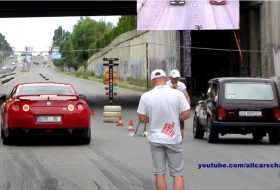 gyorsulás, gyorsulási verseny, lada niva, nissan gt-r, tuning, videó