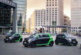 electric drive, elektromos, forfour, fortwo, fortwo cabrio, párizsi autószalon, smart