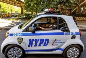 fortwo, new york, rendőrautó, rendőrség, smart, új smart