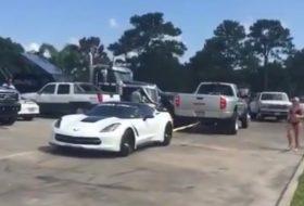 chevrolet, pickup, új corvette, vicces, videó