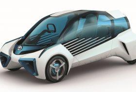 elektromos, fcv plus, hidrogén, párizsi autószalon, toyota, üzemanyagcella