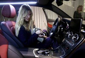 autóvezetés, mercedes, női vezető, vezetési stílus