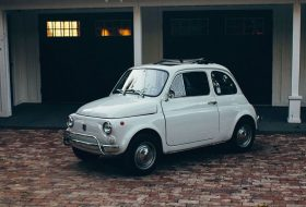 amerika, autóeladás, fiat 500, olaszország, oldtimer